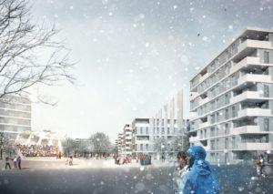 Olympisches Dorf München, Heinle, Wischer und Partner, archlab