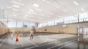 Sporthalle Niederwiesa | studio2 architekten | Sporthalle
