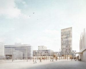 Schellenberg + Baeumler Architekten GmbH | Wiener Platz Dresden