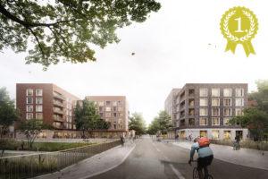 KNBK Jenfelder Au, Hamburg | Wettbewerb 1. Preis