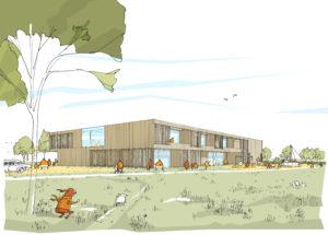 Liebel Architekten | Kinderhaus Bretzfeld | Wettbewerb 1. Preis | Spielwiese