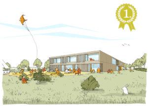 Liebel Architekten | Kinderhaus Bretzfeld | Wettbewerb 1. Preis